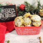pistachio shortbread cookies from 2 Cookin Mamas